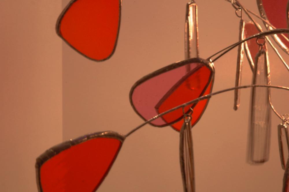Lampes en vitraux - Petales.214